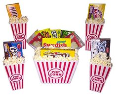 Deluxe Family Movie Night Theater Boxed Candy Popcorn Snack Gift Bundle Care Package Set -- Visit the image link more details. Popcorn Snacks, Candy Popcorn, Gourmet Popcorn, Candy Recipes, Gourmet Recipes, Snack Recipes, Corn Pops, Travel Snacks, Family Movie Night