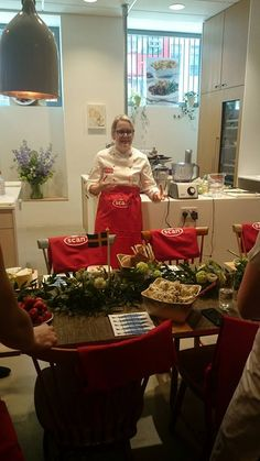 Swedish Midsummer Event hosted by Stephanie Knowles-Dellner, cooking delicious Scan meatballs! @alwayssohungry
