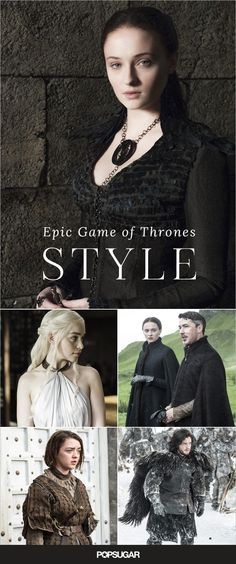 Every reason fashion girls are (or should be) obsessed with Game Of Thrones.
