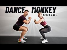 DANCE MONKEY - Tones and I | EJERCICIOS en CASA - YouTube Youtube Cardio, Zumba Strong, Monkey Dance, Leslie Sansone, Body Rock, Workout Songs, Intense Workout, Dance Moves, Kettlebell