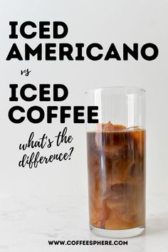 Get to know these two very similar coffee drinks. They are both cold, however the main difference is how each is made. Here's how to make each. Making Cold Brew Coffee, How To Make Ice Coffee, Coffee Type, Hot Coffee, Ice Cube Melting, Iced Americano, Coffee Ice Cubes, Iced Coffee Drinks, Coffee Dripper