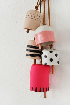 DIY Decorative Clay Bells