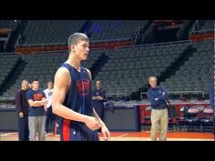 U.S. Marine Surprises His Brother During University of Illinois Basketball Practice