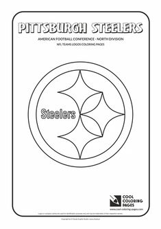 cool coloring pages nfl american football clubs logos american football - Football Teams Coloring Pages