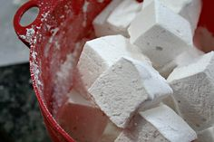Marshmallow 101 - make your own marshmallows, they're so much better than store bought, especially roasted on a campfire!