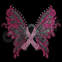 Free Rhinestone Template Downloads   Pink butterfly transfer hotfix crystal rhinestone motif design