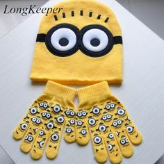 $4.29 (Buy here: https://alitems.com/g/1e8d114494ebda23ff8b16525dc3e8/?i=5&ulp=https%3A%2F%2Fwww.aliexpress.com%2Fitem%2F2pcs-set-Hot-Sale-Children-s-Winter-Cartoon-Minions-Glove-Hat-Sets-Fashion-Kids-Baby-Warm%2F32757193604.html ) 2pcs/set Hot Sale Children's Winter Cartoon Minions Glove Hat Sets Fashion Kids Baby Warm Knitted Caps Gloves E906 for just $4.29