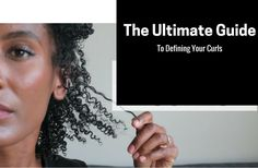 The Ulimate Guide To Defining Curls In Natural Hair - 7 Methods - https://blackhairinformation.com/by-type/natural-hair/ulimate-guide-defining-curls-natural-hair-7-methods/
