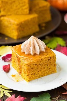 Now it's pumpkin season, all you need is some delicious recipes to use all of those pumpkins. Take a look at these awesome pumpkin desserts that taste just like fall. They're so easy to make.