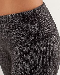Lululemon herringbone leggings... I want these.