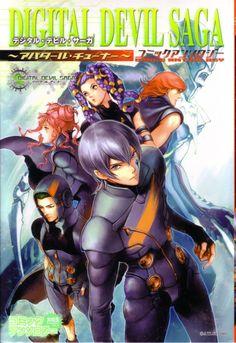 Digital devil saga manga cover art I want this!