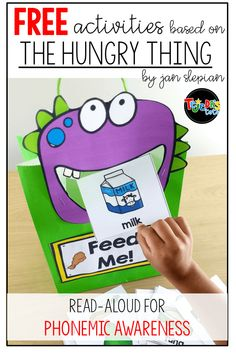 Phonemic Awareness and rhyming book for the beginning of the school year