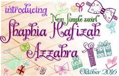 shaphia. Script Fonts. $8.00