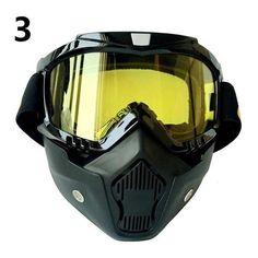 Goggles Mask UV400 Anti Wind Airsoft Ski Glasses