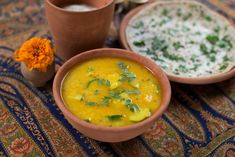 Cukkinis dhál   Vegavarazs Dahl, Ethnic Recipes, Food, Turmeric, Essen, Meals, Yemek, Eten