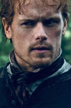 I love all your faces my dear! You say so much just with your eyes 💘💘💘 Claire Fraser, Jamie And Claire, Jamie Fraser, James Fraser Outlander, Sam Heughan Outlander, Outlander Tv, Outlander Quotes, Sam Heugan, Starz Series