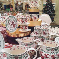 Emma Bridgewater Pottery Christmas Joy Angel at Fortnum & Mason