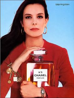 1987 Chanel No. 5 Perfume Advertisement-This is a 1987 ad for a Chanel No 5 perfume! The size of the ad is approximately The caption for this ad is 'No 5 Chanel Perfume' The ad is in great condition. This vintage ad would look great fra Vintage Perfume, Vintage Chanel, Vintage Beauty, Vintage Ads, Vintage Prints, Vintage Advertisements, Karl Lagerfeld, Estilo Coco Chanel, Perfume Adverts