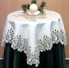 A import from Germany it is available in a 37 1/2X 37 1/2 Table Topper for $87.95.