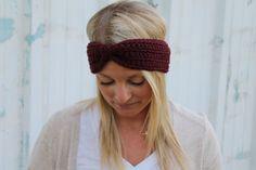 Crochet Turban Headband Crochet Headband Turban by threesheepshack
