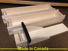 There is no better material available for wood soap molds than Baltic Birch Hardwood Plywood. This material consists of up to 11 layers of hard wood, laminated together, to give it the highest quality available for soap molds. Most soap-makers prefer to use wooden molds because of their superior insulating properties.  All wood molds require lining before each use.  You will receive one Adjustable Cutter, two soap molds and 1 stainless steel cutter. Both molds will make a full five lbs. of…