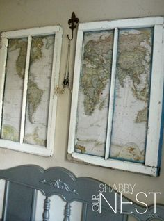 Add some creative charm in your home with an old window! Here are some Repurposed Window Ideas that you can get inspiration from, for your own original project! We are want to say thanks if you like to share this post to another people via your facebook, pinterest, google plus or twitter...