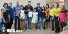 Prefeito Tiago Albano realiza entrevista com alunas do 7º ano