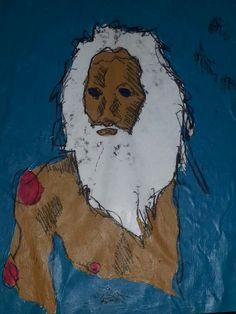 Babalu aye  ilustrado por Imanol Buisan