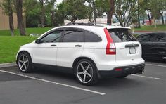 2007-2011 Honda CRV with Megan Racing Street Coilovers at Redline360