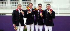 Showjumpers land team gold | Team GB  Welldone lads! xx