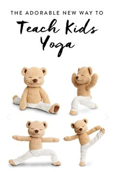 28329b2b4a 11 Best Teddy Yoga images | Toddler yoga, Yoga for kids, Kid yoga