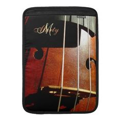 Personalized Cello Music iPad Sleeve