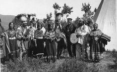 Blackfeet (Pikuni) group - 1933