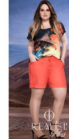 Realist plus size. Plus Size Tips, Look Plus Size, Plus Size Casual, Plus Size Women, Curvy Outfits, Short Outfits, Short Dresses, Casual Outfits, Fashion Outfits