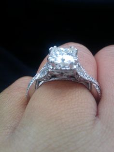 Another gorgeous ring (beautiful from every angle!) #TacoriGirls