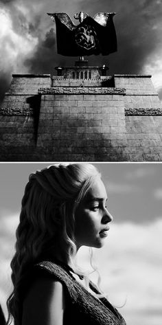 """Daenerys Targaryen: One hundred and sixty-three,"""" she answered. She had them nailed to wooden posts around the plaza, each man pointing at the next. The anger was fierce and hot inside her when she gave the command; it made her feel like an avenging dragon. #got #asoiaf"""
