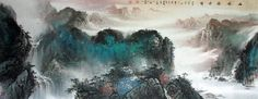 Famous Painter Chinese painting for sale Arts Art collectible Watercolor Landscape Painting - US $1700.00