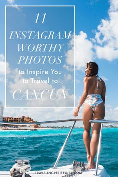 11 Instagram Worthy Photos To Inspire You To Travel To Cancun | TravelingPetiteGirl.com | #cancun #instagram #travel #photography