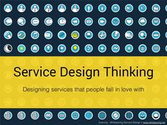 Slides from my service design talk & one day workshop @ Clarice Technologies, Pune, India. - Why Service Design ? Todays Customers Trends ? - Service Design Be…