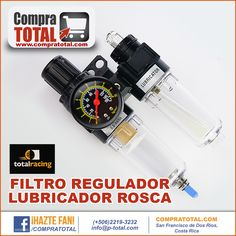 FILTRO REGULADOR LUBRICADOR ROSCA #CompraTotal - #TotalRacing