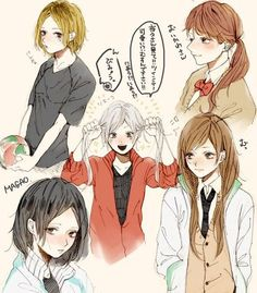 pixiv is an illustration community service where you can post and enjoy creative work. A large variety of work is uploaded, and user-organized contests are frequently held as well. Haikyuu Genderbend, Haikyuu Funny, Haikyuu Fanart, Haikyuu Anime, Kagehina, Oikawa Tooru, Kenma Kozume, Haikyuu Characters, Anime Characters