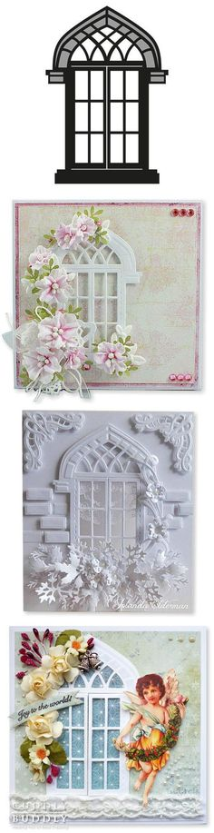 Marianne Design Craftables Die - Arched Window CR1259