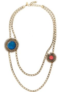 Gold-plated Swarovski crystal necklace  by ERICKSON BEAMON for THE OUTNET