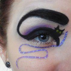 Katzen-Augen-Make-up zu Halloween Mehr