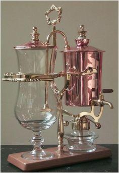 a steampunk coffee maker.
