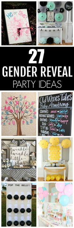 27 Creative Gender Reveal Party Ideas | Pretty My Party