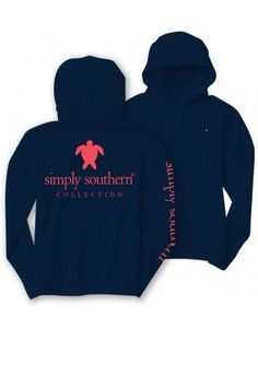 Simply Southern Hoodie - Navy from Chocolate Shoe Boutique