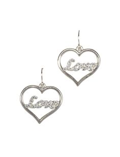 S Clothing Earrings Love Heart Justice