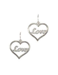 Girls Clothing | Earrings | Love Heart Earrings | Shop Justice