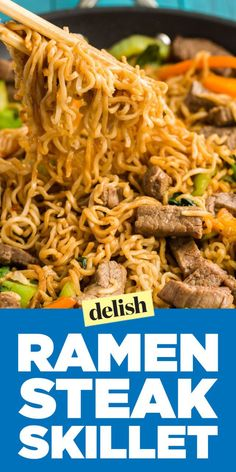 Love ramen? Start incorporating the noodles into a stir-fry with this easy weeknight dinner.